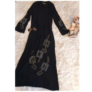 Dresses & Skirts - Embroidered Abaya Dress ❤️❤️